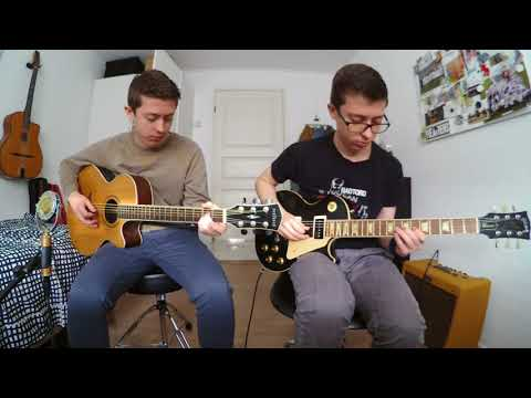 Godless (Netflix) - Ending Theme - Guitar Cover