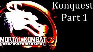Mortal Kombat: Armageddon - Konquest Walkthrough Part 1