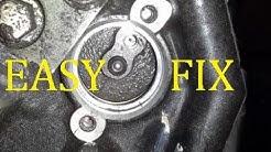 HOW TO FIX 04-05 KAWASAKI NINJA ZX10R Gear Position Sensor, EASY FIX, DIY.