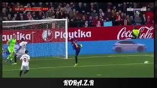 أهدف اشبيلية على برشلونة في مسابقة كاس المالك 23-01-2019