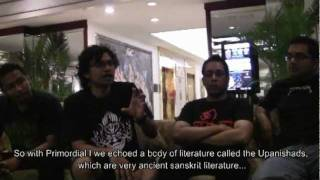 Vedic Metal Pioneers Rudra Interviewed in Colombo