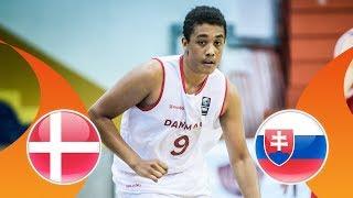 LIVE 🔴 - Denmark v Slovakia - FIBA U16 European Championship Division B 2018