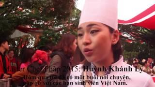 Vua đầu bếp Pháp gốc Việt Huỳnh Khánh Ly trở lại quê hương tham dự ngày hội Pháp ngữ