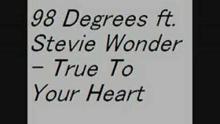 98 Degrees ft. Stevie Wonder - True To Your Heart