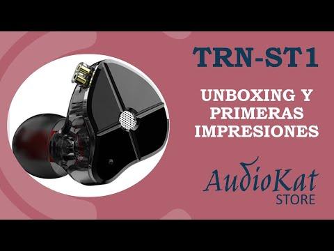 UNBOXING Y REVIEW del TRN-ST1 en español || Comparación con el Kz Zsn/Zsn Pro/Cca Ca4