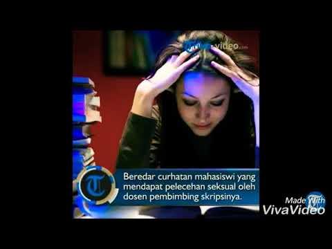 Oknum Dosen Pembimbing diduga Melakukan Pelecehan Seksual terhadap Mahasiswa yg sedang Skripsi