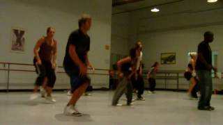 Tim Stevenson Choreo Step Up To The Party- Darin vs 50 Cent
