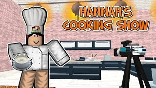 Proprietà ROBLOX . HANNAH'S COOKING SHOW - COME MAKE CLAM CHOWDER