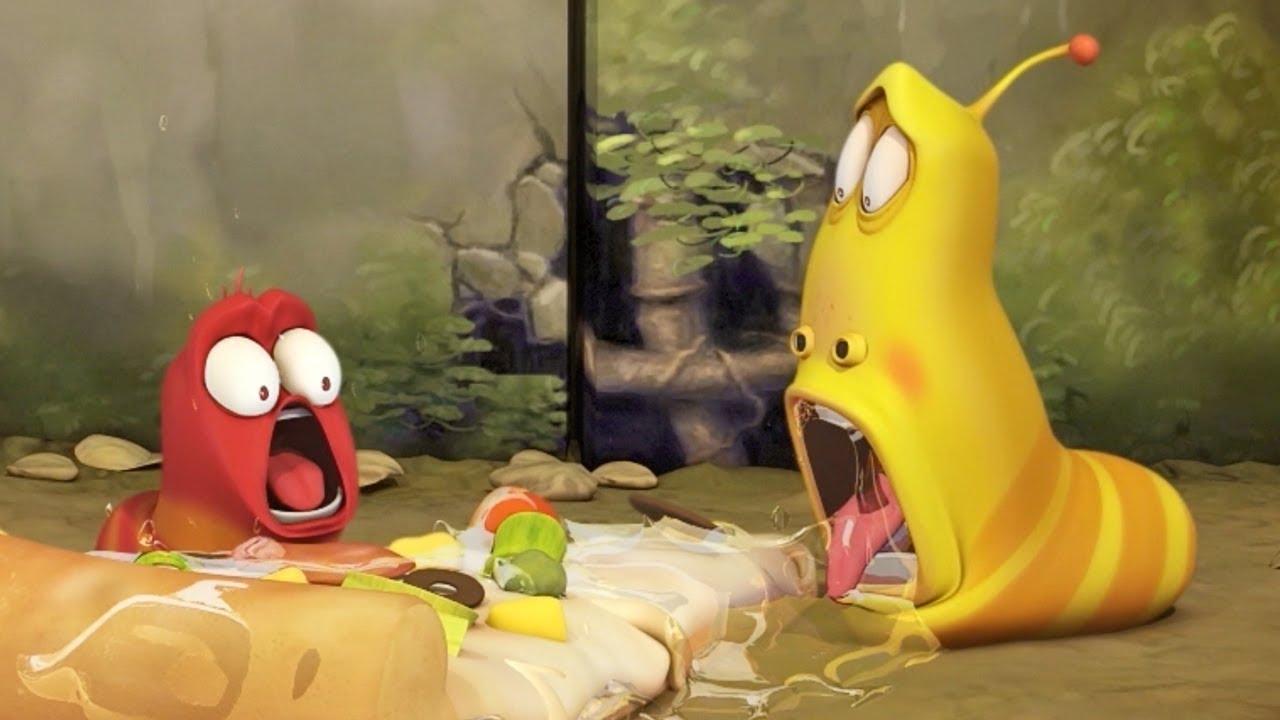 LARVA - THE PIZZA HAS GONE! | Cartoons For Children | LARVA Official