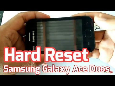 Hard Reset SAMSUNG Galaxy Ace Duos GT-S6802 | Recovery Mode