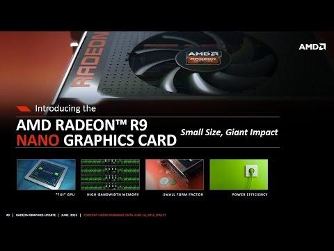 สมน้ำสมเนื้อ!!!! AMD Radeon R9 Nano กราฟิกการ์ดขนาดเล็กสเปคแรงเต็มสูบเทียบเท่า GeForce GTX 970