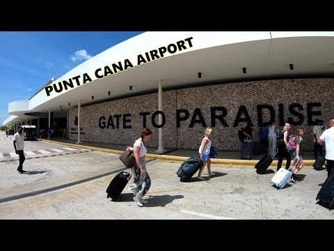 GATE TO PARADISE - PUNTA CANA AIRPORT 4K