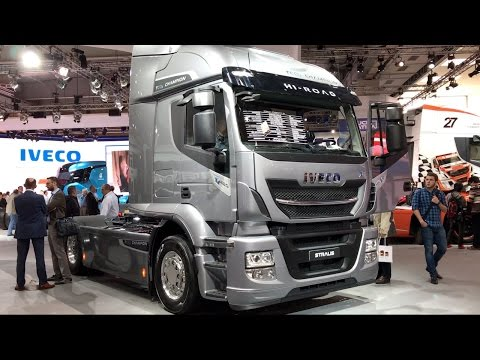 Iveco Stralis XP 420 2017 In detail review walkaround Interior Exterior