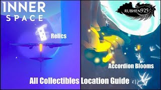 InnerSpace (PS4) - All Collectibles Locations Guide (Relics & Accordion Blooms)