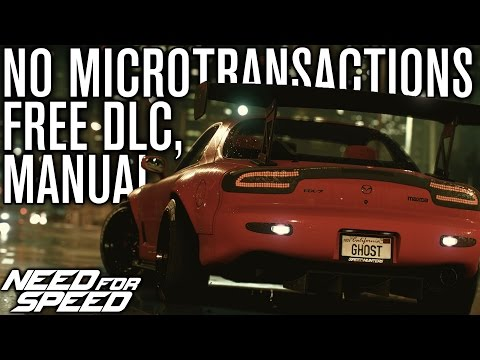 Need for Speed 2015 | FREE DLC, MANUAL, WHEEL SUPPORT & MORE (NFS 2015)