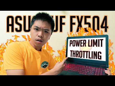 How to fix POWER LIMIT THROTTLING & FPS DROPS / STUTERRING   ASUS