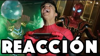 REACCIÓN NUEVO TRAILER SPIDERMAN FAR FROM HOME / NAVY