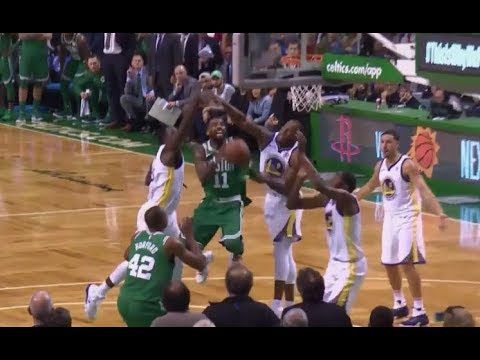 Kyrie Irving Phantom Foul Leads To Game Winning Free Throws - Bad Call?