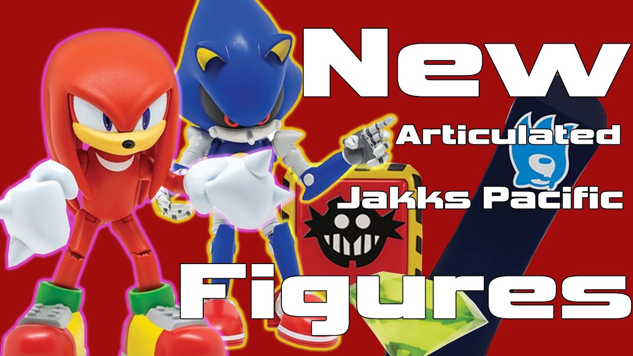 Jakks Pacific Sonic The Hedgehog Articulated Figures New Wave 2 Youtube