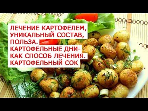 Лечение картофелем, уникальный состав, польза  Картофельные дни как способ лечения  Картофельный сок