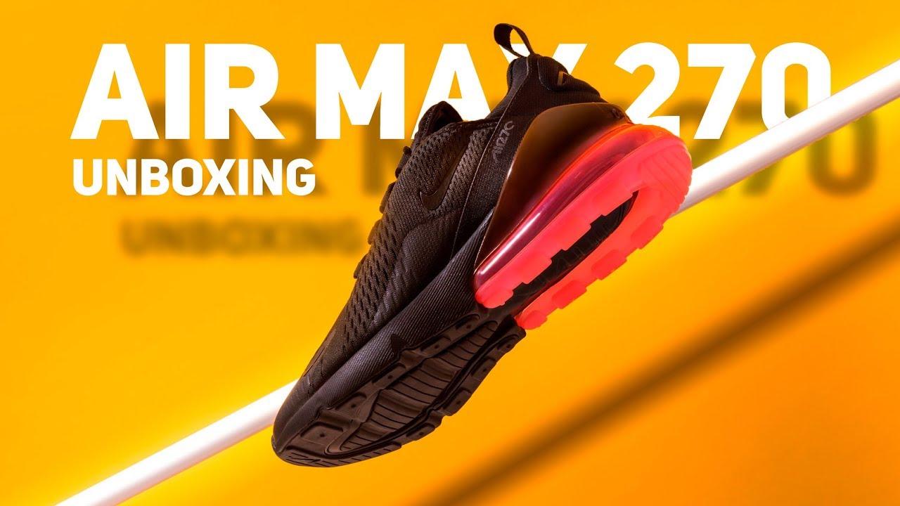91424e1b510b Air Max 270. Эксклюзивный взгляд на новую модель Nike. - YouTube