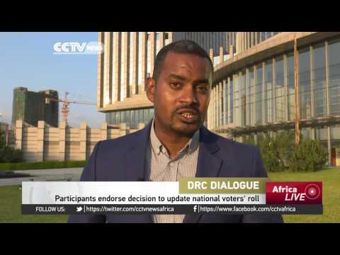 Participants in the DRC dialogue resolve that no polls will be held before 2018