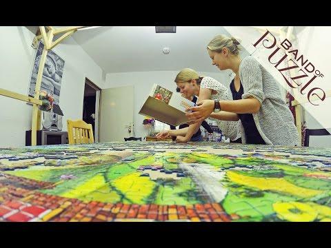 5000 Pieces Ravensburger Puzzle Timelapse   Jigsaw Puzzles Bizarre Town
