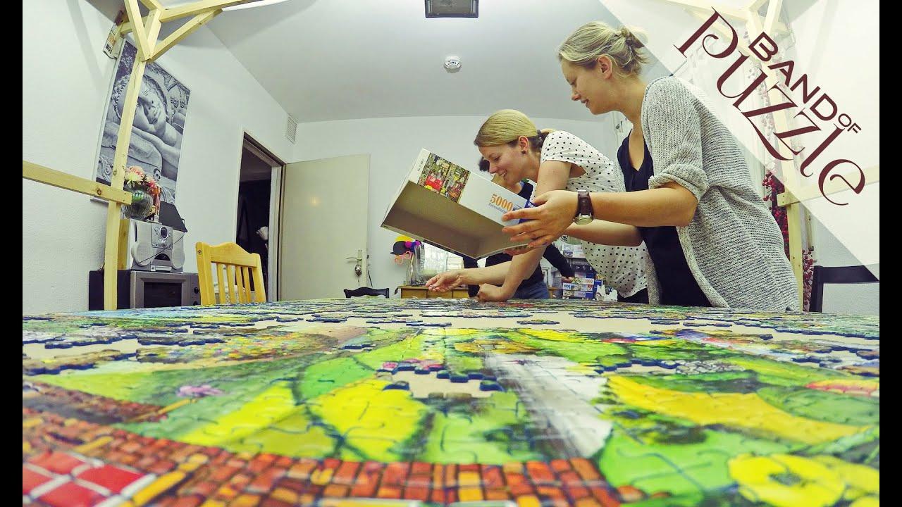 5000 Pieces Ravensburger Puzzle Timelapse