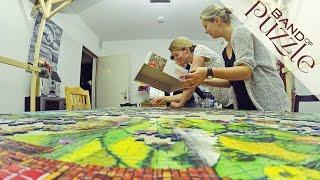 5000 Pieces Ravensburger Puzzle Timelapse | Jigsaw Puzzles Bizarre Town
