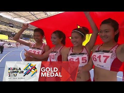 Athletics Women's 4 x 100m Final | 29th SEA Games 2017