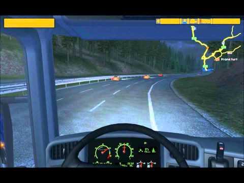 Euro Truck Simulator - Trip from Amsterdam to Munich
