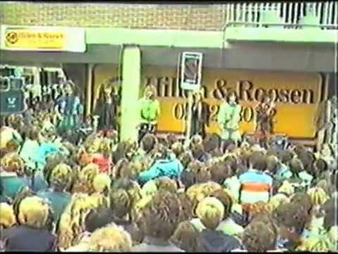 Opening Kinkerstraat, Amsterdam midden jaren '80