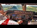 Challenging Landing QUITO Boeing 747 Cockpit View 4K mp3