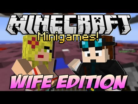 Minecraft Minigames | WIFE EDITION! | Who's Going to Win?!
