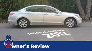 Honda Accord 2008 - 2012 Owner's Review: Price, Specs & Features | PakWheels