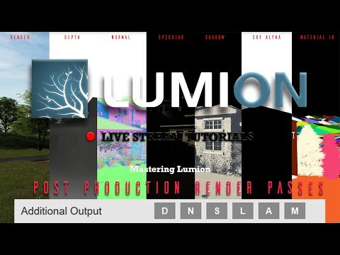 Lumion 8.5 Post Production Render Pass Workflows