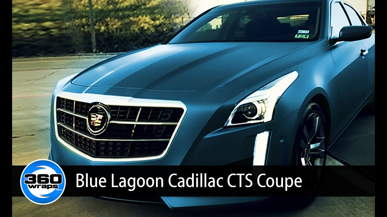 Cts V Blue Lagoon Color Change Wrap Youtube