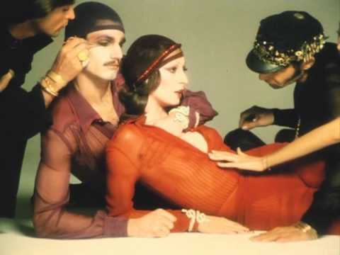 JUN ROPE' CM / Richard Avedon・Anjelica Huston (1973) 60 second