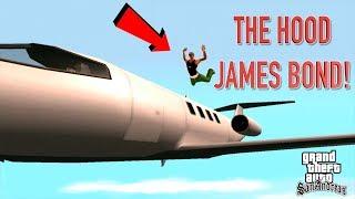 "THE HOOD JAMES BOND! ( FUNNY ""GTA ,SAN ANDREAS"" GAMEPLAY #19"