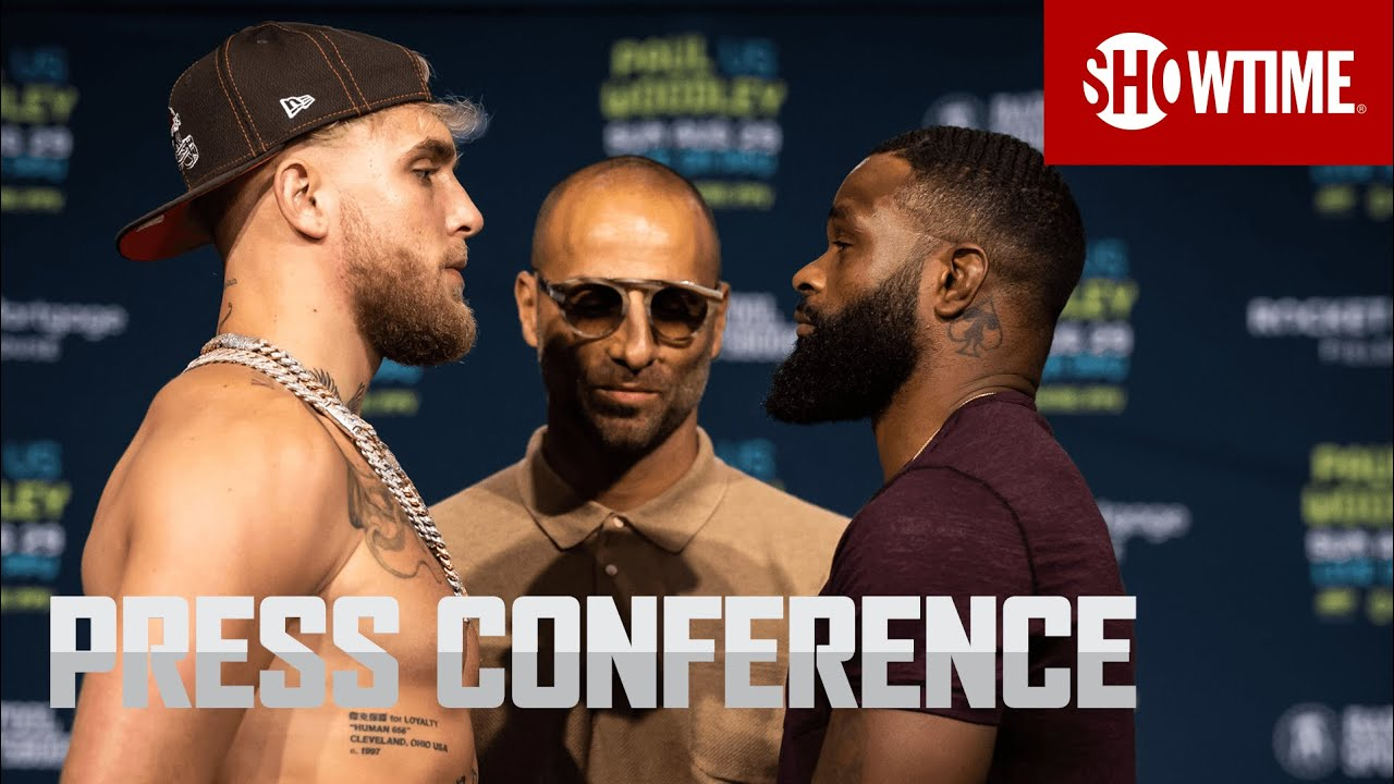 Download Paul vs. Woodley: Press Conference   SHOWTIME PPV