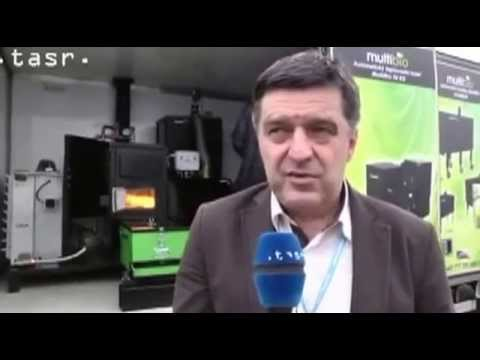 The video presenter who talks about Agri Pellet Boilers, Wood Pellet Stoves and Biomass Boilers