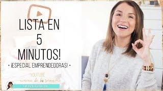 Baixar CÓMO ESTAR LISTA EN 5 MINUTOS ¡ESPECIAL PARA EMPRENDEDORAS! | GRWM