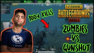 Zombies Vs Gunshot | Can I  Kill 100 Plus Zombies In Pubg Mobile ? |NEW ZOMBIE UPDATE PUBG MOBILE