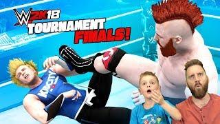 LITTLE FLASH vs DENIS! WWE 2k18 Game Tournament Finals ft. SHEAMUS