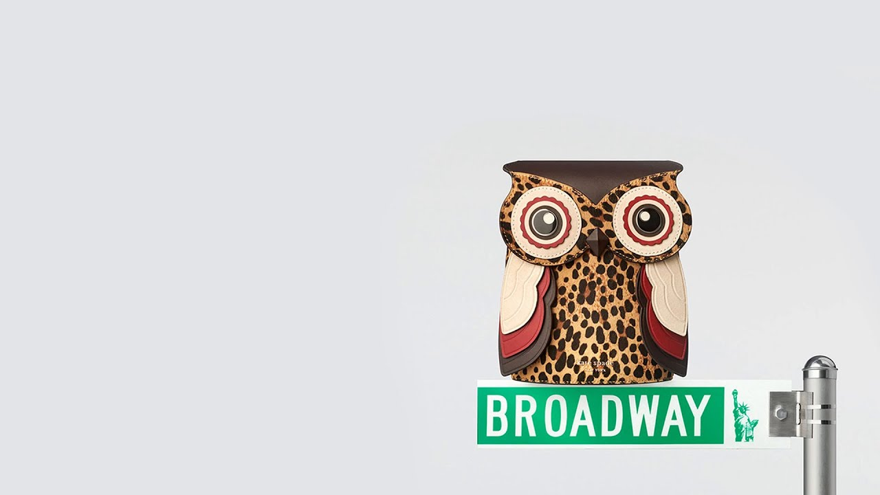 look how we made our new owl novelty bag | kate spade new york