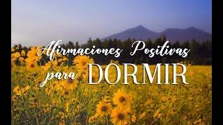AFIRMACIONES POSITIVAS PARA DORMIR | DESPERTAR FELIZ | ❤ EASY ZEN