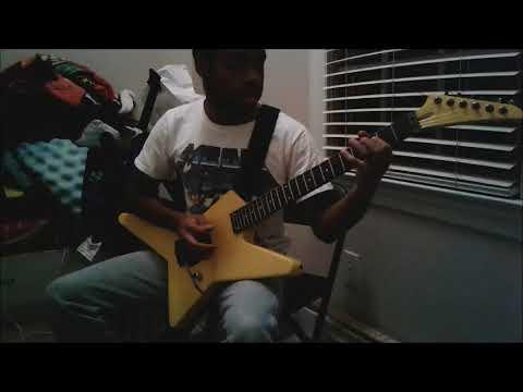 Europe - Ninja Guitar Cover