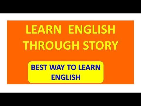 learn english through stories || spoken english through story || speak English