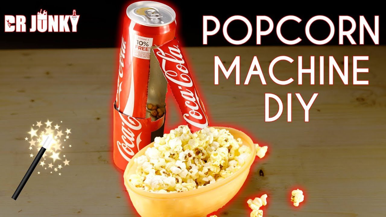 how to make sweet popcorn in a machine