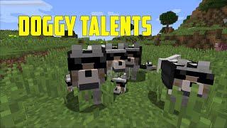 Doggy Talents mod showcase ( 1.12.2 version 1.15.1.6 )